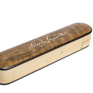 جعبه مضراب سنتور چوبي ( ويژه ) 2طبقه