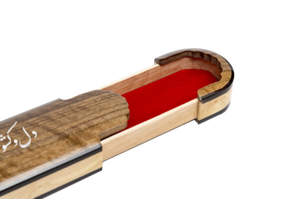 جعبه مضراب سنتور چوبي ( ويژه )