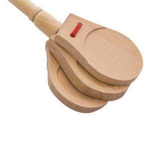 قاشقک چوبی